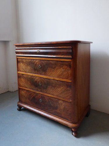 Antique Danish chest of drawers