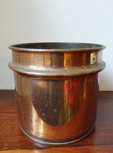 Large Vintage Copper Planter