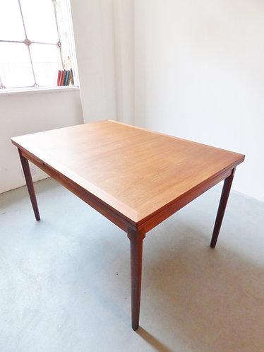 Danish teak dining table by Kaj Winding