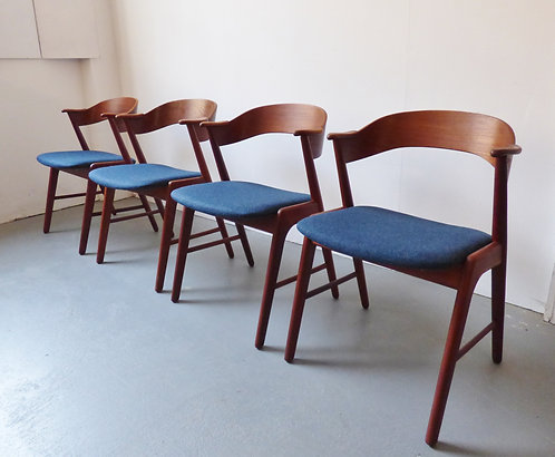 Danish dining chairs Korup Stolefabrik
