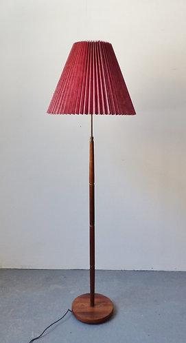 Danish rosewood standard lamp