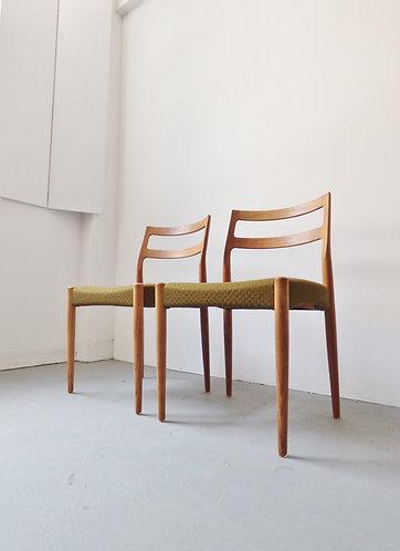 Johannes Andersen oak dining chairs