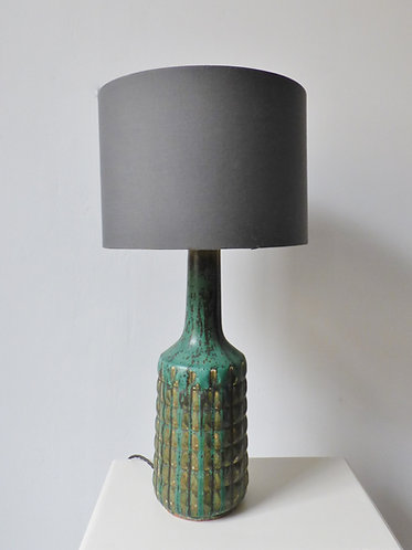 Mid-century Danish ceramic lamp