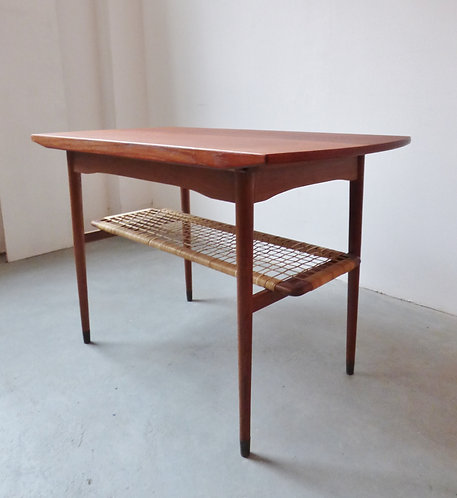 1950s Danish teak coffee / sewing table