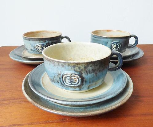 Mid-century Danish ceramics Jette Helleroe