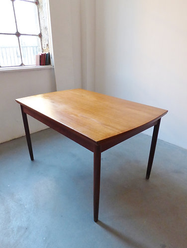 Danish extending dining table by Westergaard