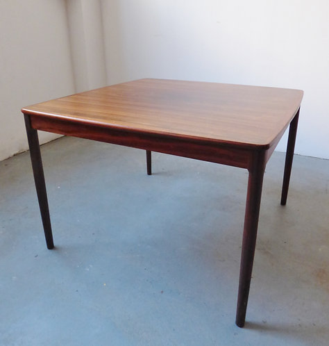Mid-century Swedish rosewood coffee table
