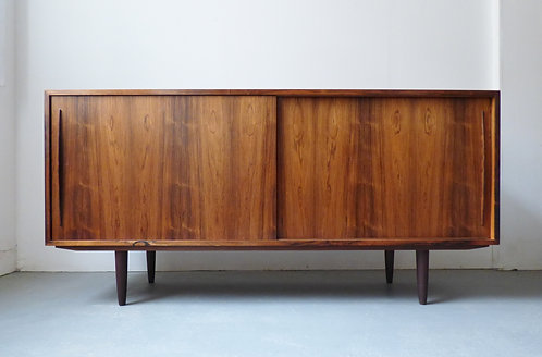 Danish rosewood sideboard credenza front