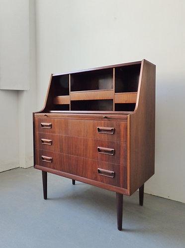 Danish rosewood bureau