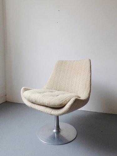 Mid-century swivel chair