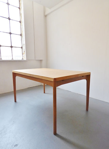 Henning Kjærnulf dining table oak