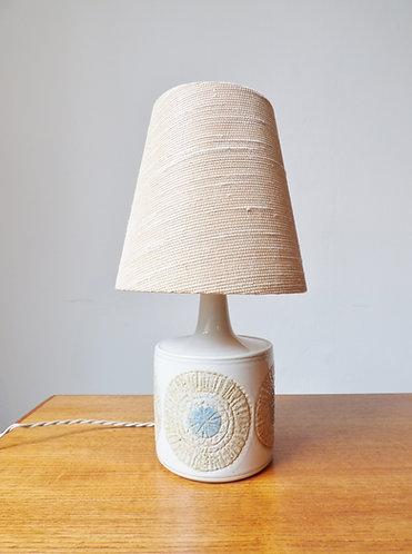 1960s ceramic table lamp by Kari Christensen for Fog & Mørup