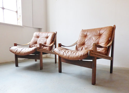 Hunter armchairs by Torbjorn Afdal