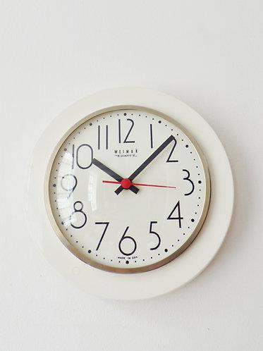 Vintage East German wall clock by Weimar