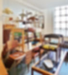 Mid-century furniture showroom in Hackney
