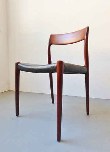 Niels O. Møller dining chair model #77