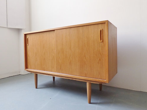 Mid-century Danish light oak sideboard