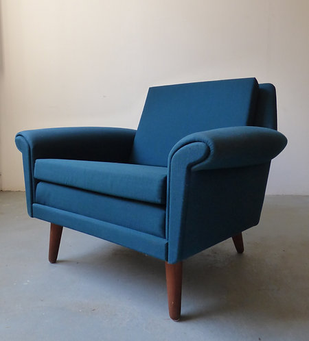 1960s Diplomat armchair by Aage Christiansen
