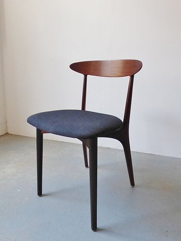 Set of 4 rosewood dining chairs by Kurt Østervig - 1950s