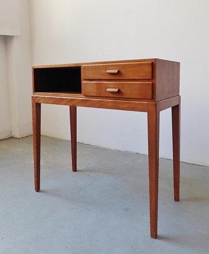 Small Danish hall table by Fritz Hansen