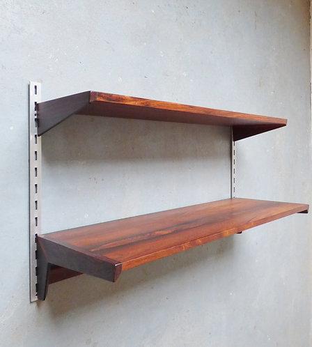 Rosewood shelving by Kai Kristiansen