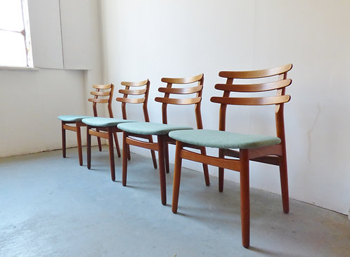 Poul Volther dining chairs for FDB