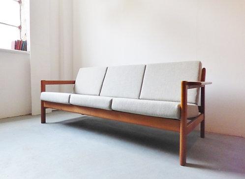 1960s Danish oak sofa by Borge Mogensen
