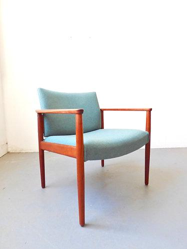 Mid-century Danish lounge chairs