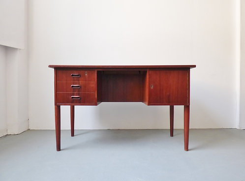 Small Danish teak desk