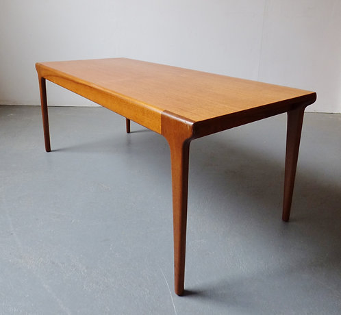 Small 1960s coffee table