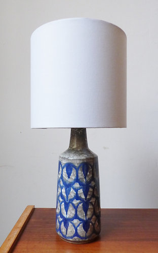 Vintage Danish ceramic table lamp by Marianne Starck for Michael Andersen