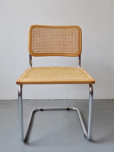 Vintage Cesca chair by Marcel Breuer