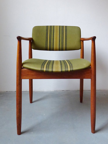 1960s Danish teak desk chair by Farso