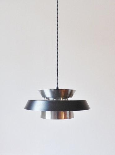 Mid-century Danish tiered pendant light