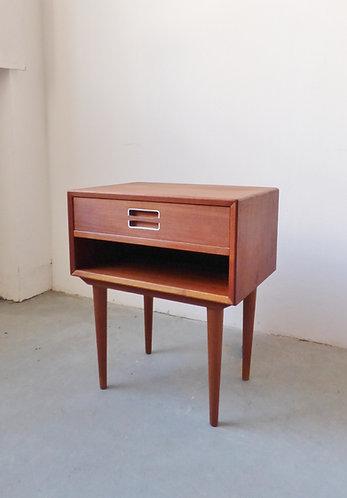 1960s Danish teak bedside table