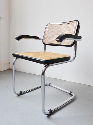 Black Cesca armchair
