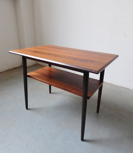 Mid-century Danish rosewood side table