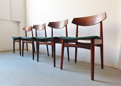 Mid-century Danish rosewood dining chairs
