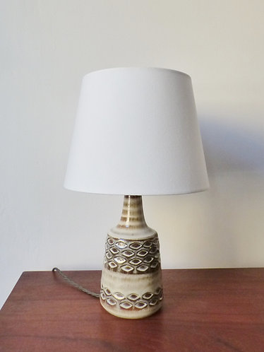 1960s ceramic table lamp by Søholm