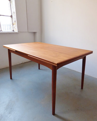 1960s Danish teak dining table