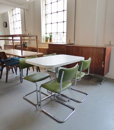 1970s formica and chrome table