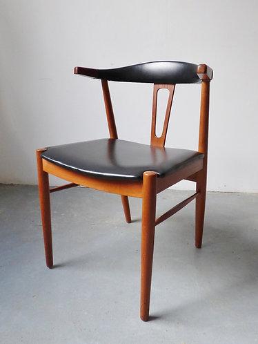 1960s Danish teak desk chair