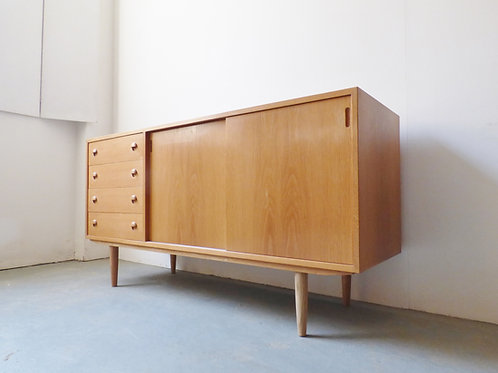 Danish light oak sideboard