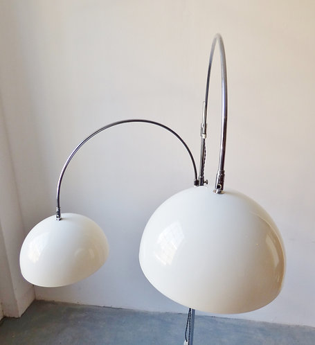 1970s Italian double floor lamp