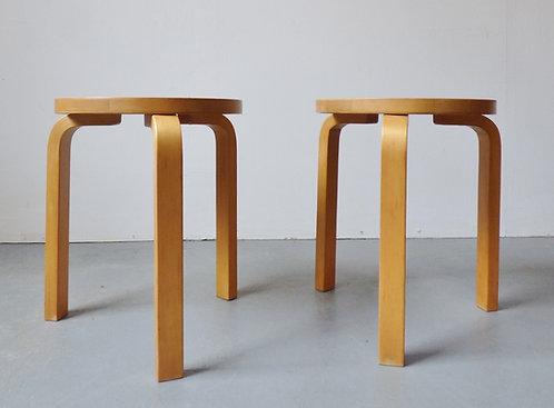 Vintage Alvar Aalto stools