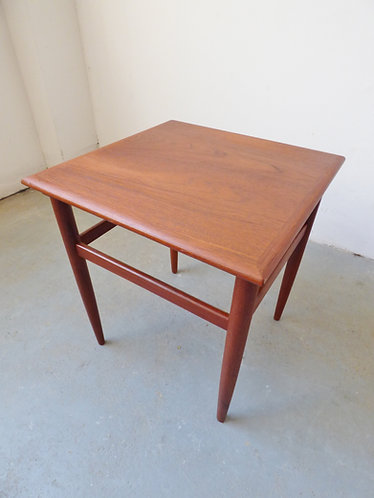 Small Danish teak table 1960s