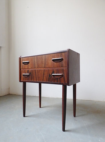 Mid-century Danish rosewood hall chest from P Westergaard