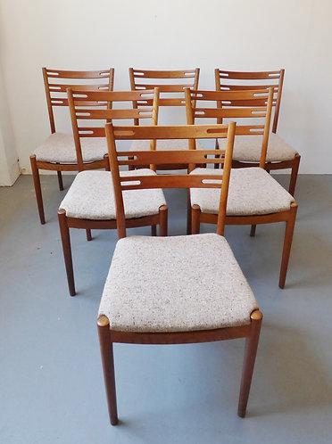 Mid-century Farstrup dining chairs