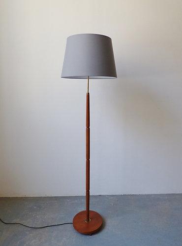 1960s Danish teak floor lamp