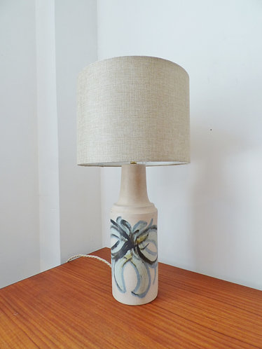 Vintage Danish ceramic table lamp